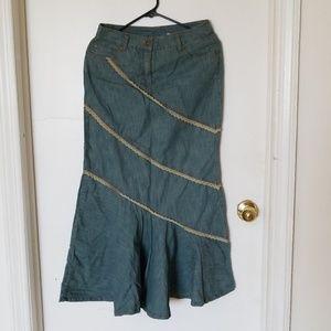 Jeanology mermaid skirt